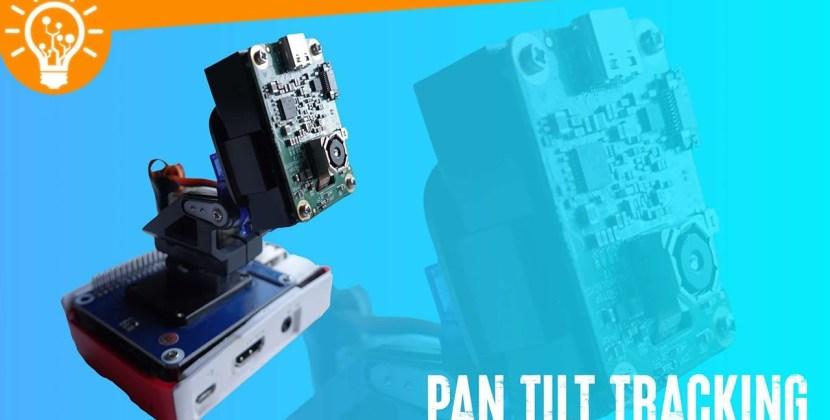 Raspberry Pi Pan Tilt Tracking with OpenCV AI Kit