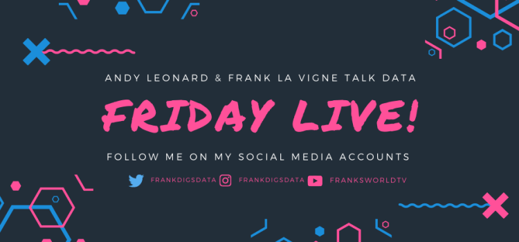 Friday Livesteam: Productivity Hacks, Data Minute and More.