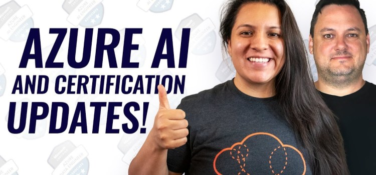 Azure Data Factory, Azure Certification Changes and More