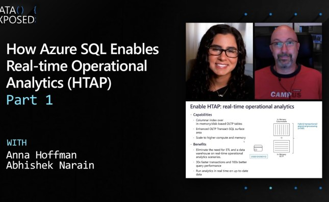 How Azure SQL Enables Real-time Operational Analytics (HTAP) – Part 1