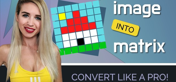 How to Convert an Image into a Matrix