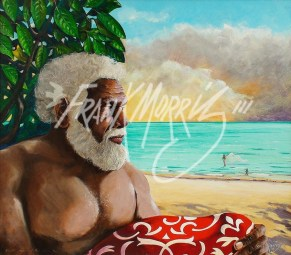 (KY377) An Old Man of the Sea 61 x 68 cm $425