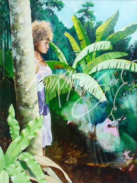 (Y362) Daintree Day Dreaming 81 x 104 cm $900
