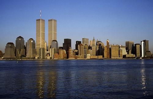 New York Skyline 1987