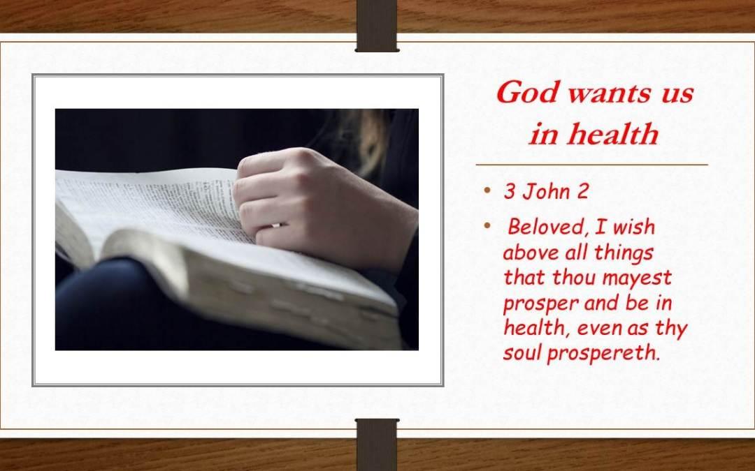Gods word is medicine