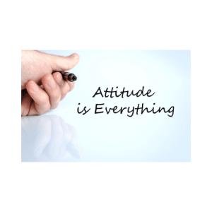 Attitude is everything November 1 2020