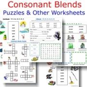 ConsonantBlendsWorksheets