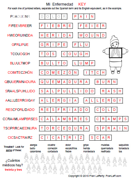 This is an image of Printable Spanish with regard to preschool