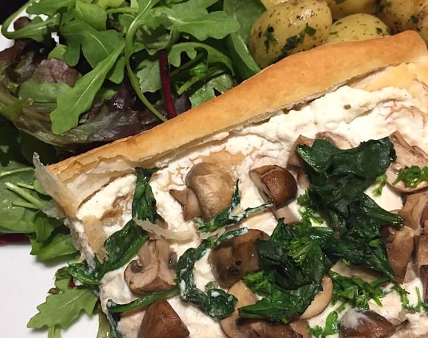 Riccotta-mushroom-tart