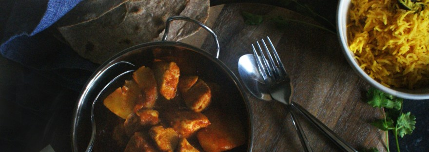 Punjabi tomato curry header