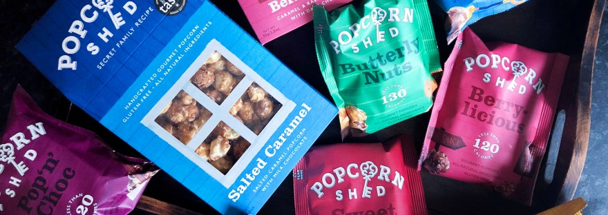 Popcorn Shed flavours