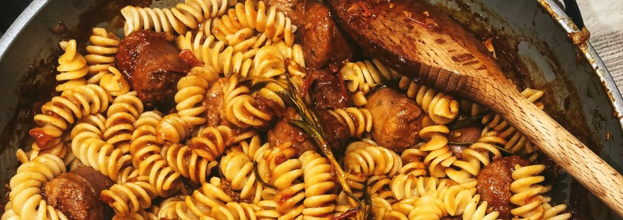 Spicy Sausage Pasta Recipe