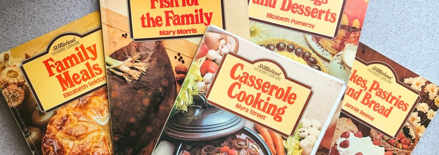 Vintage M&S cookery books