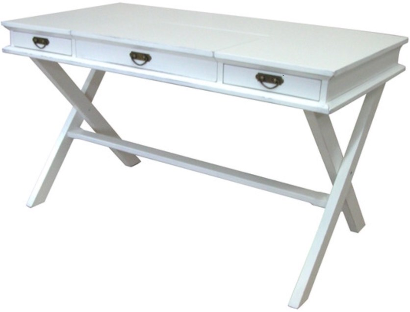 White Cottage Barrister Desk
