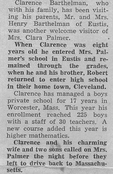 Clara Dell Waterman Palmer Biography