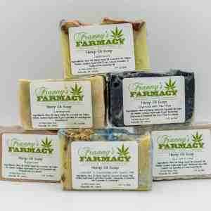 Franny's Farmacy Hemp Oil Soap