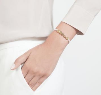 Monika Vinader Linear Bead Friendship Bracelet 2