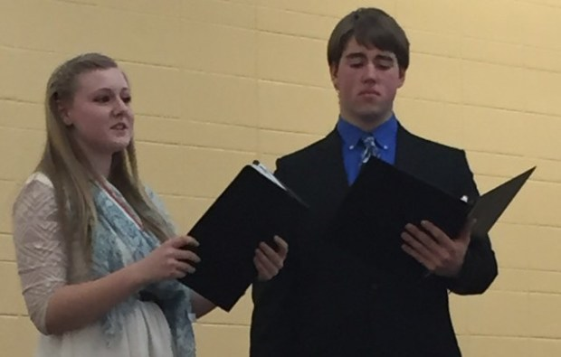 Accappella Selection by AP Students