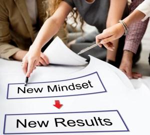 cambiar el pensamiento para cambiar resultados