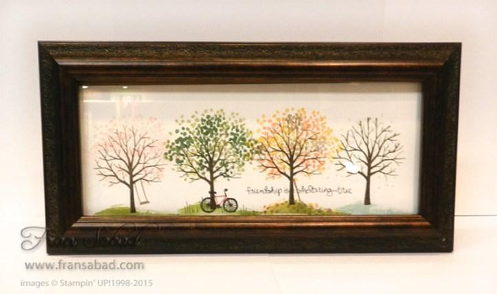 Sheltering Tree frame
