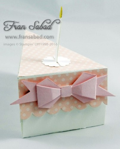 Cutie Pie Box cake bow