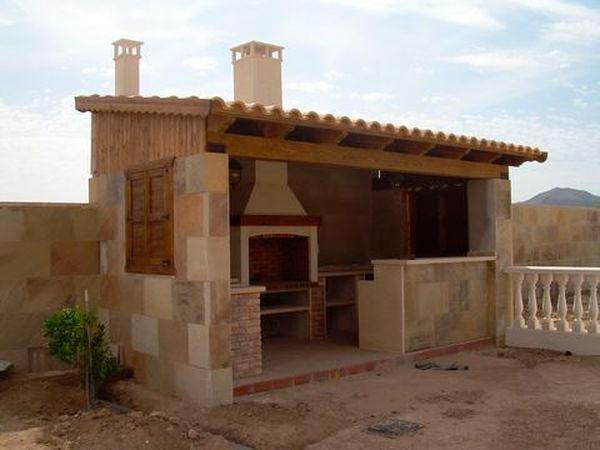Instalación de chimeneas exteriores en Cáceres