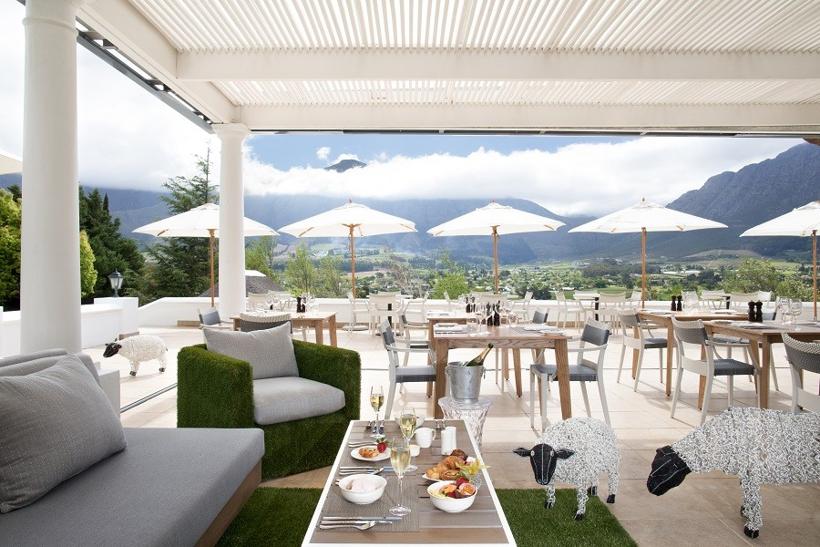 Image result for Miko Restaurant, franschhoek