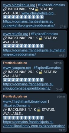 expired domain service