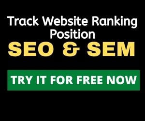 Track website ranking position