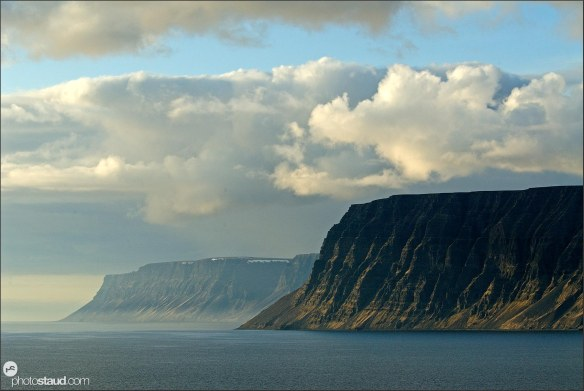 Landscape of Westfjords, Iceland