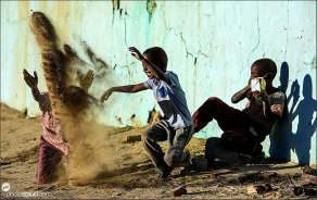 Dusty game, Sudan