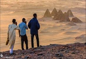 Jebel Barkal pyramids, Sudan