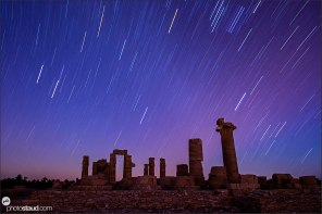 Soleb temple by night, Sudan