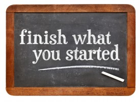 Finish what you started | FrantoniaPollins.com