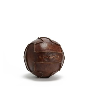 Ballon football cuir de bufle