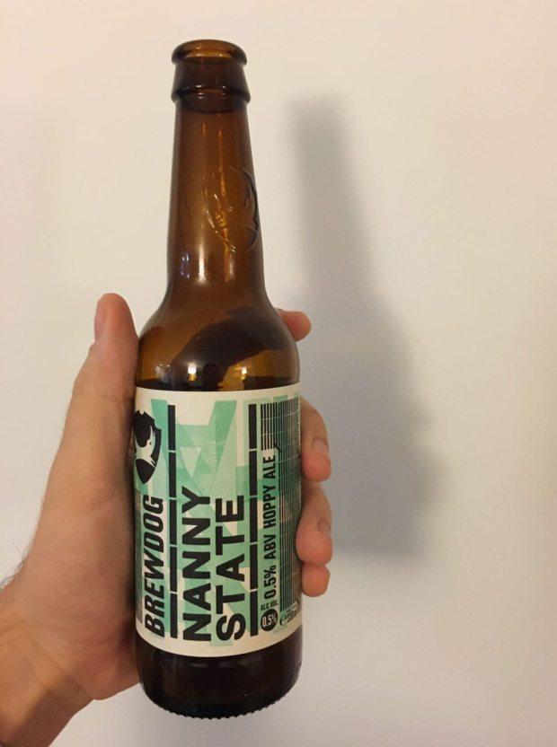 Bottle of BrewDog Nanny State