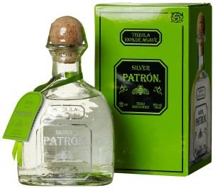 Patron Silver Tequila with box