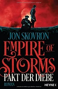Jon Skovron: Empire of Storms. Pakt der Diebe