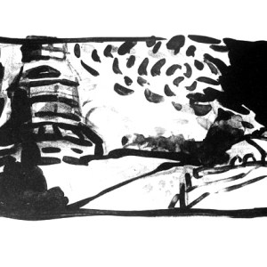 WINDMÜHLE   Lithographie, 2005