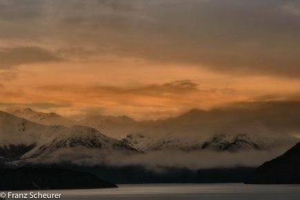 Dusk over Lake Wanaka