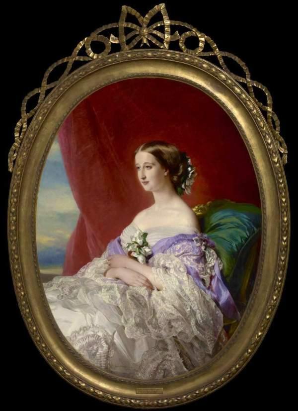 Franz Xaver Winterhalter Empress Eugnie Of 1854