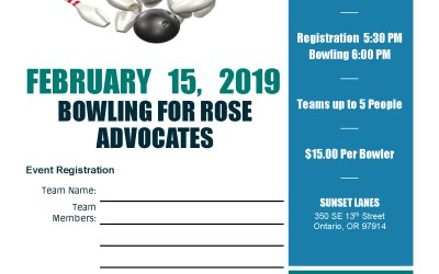 2018 Bowling For Rose Advocates Scheduled!