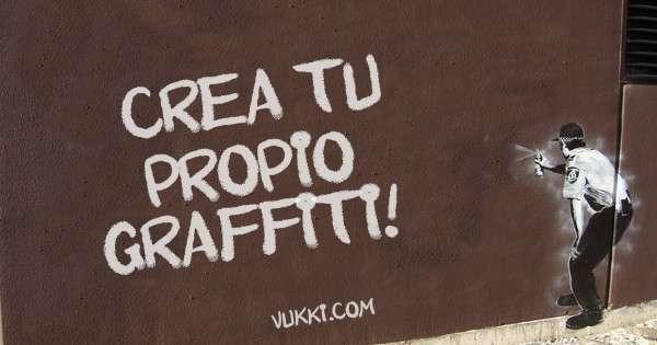 Tu graffiti en el muro