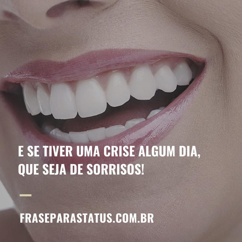 Frases sobre o sorrir