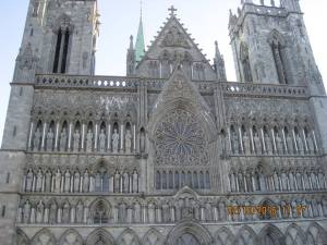 Cathedral in Trondheim
