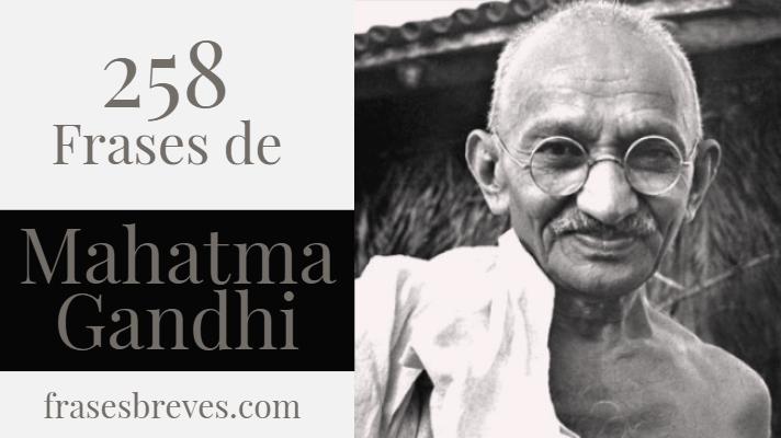 Frases De Mahatma Gandhi Frases Breves