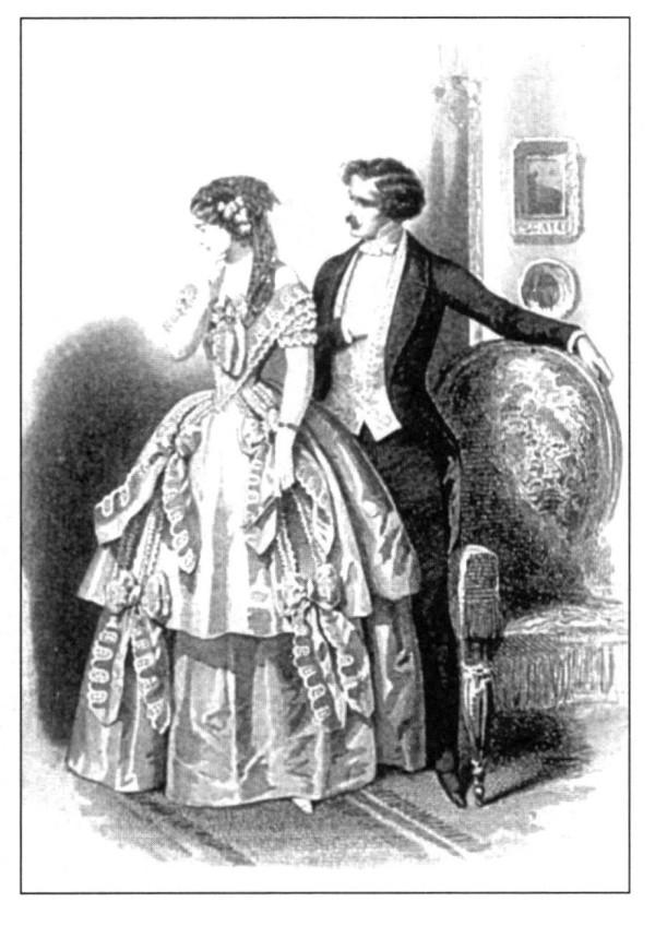 Imgenes de la vestimenta de las mujeres de la poca