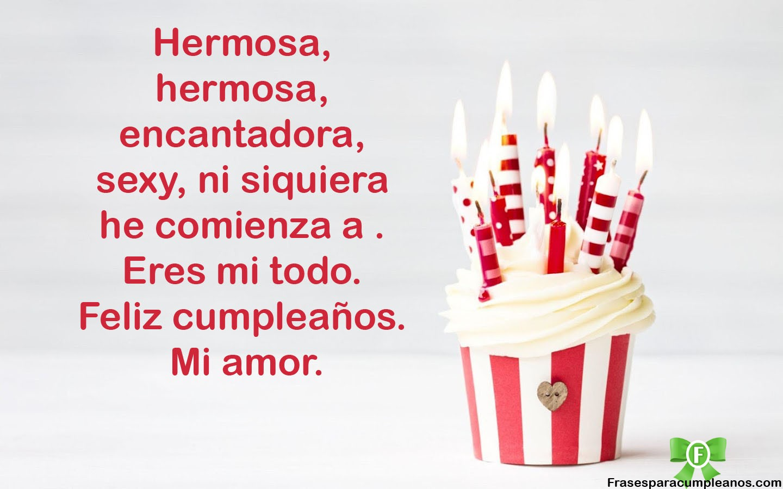 Bonito Lunes Mi Amor ▷frases de cumpleaños para mi amor - frasescumpleaños