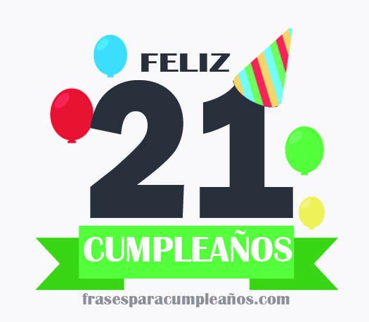 imagenes de cumpleaños 21 años