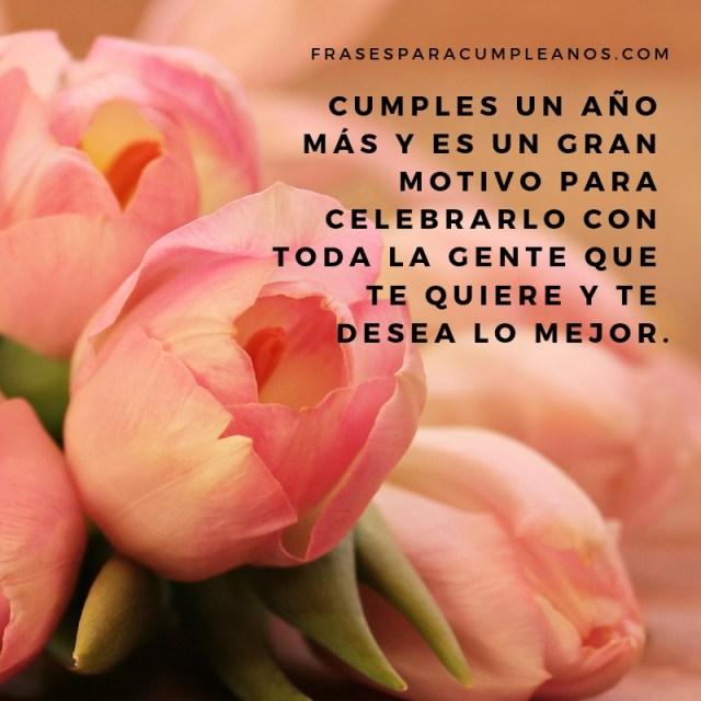 imágenes de feliz cumpleaños con flores para facebook